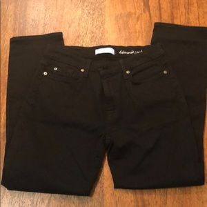 Super soft 7 for All Mankind black jeans; size 32